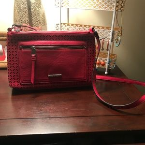 Crossbody with double zipper sides